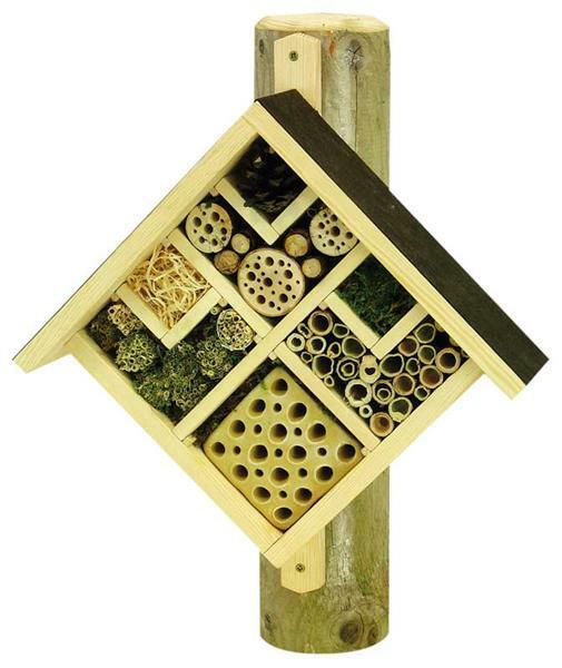 Insectenhotel - Bouwpakketten : Van 10 tot 15 jaar