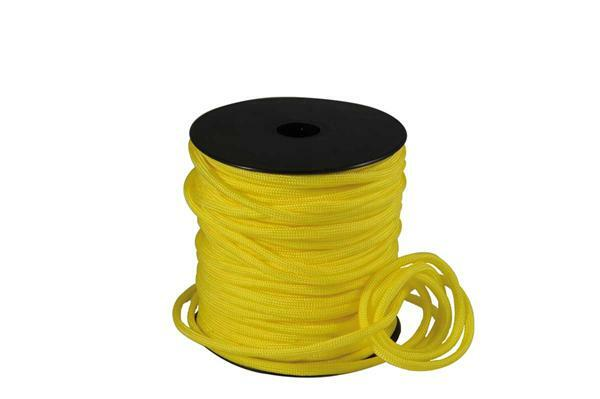 Paracord 4 mm - 40 m, geel