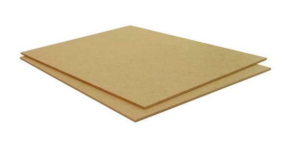 hardboardplaat 4 mm 600 x 300 mm op maat gezaagd op. Black Bedroom Furniture Sets. Home Design Ideas