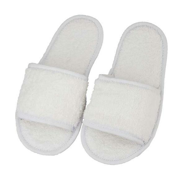 Slippers - wit, maat 36 - 41