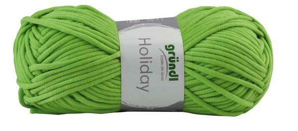 Wol Holiday - 50 g, groen